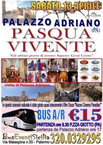 Pasqua a Palazzo Adriano